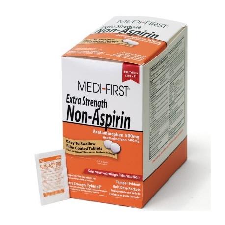 Non-Aspirin Extra Strength, 500/box/Case of 12 $18.20 each