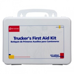 Trucker 16 Unit First Aid Kit - plastic/Case of 6 @ $29.30 ea.