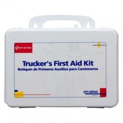 Trucker 16 Unit First Aid Kit - plastic