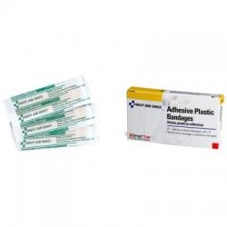 """3/4""""x3"""" Adhesive plastic bandage"""