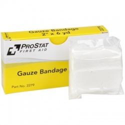 "2"" x 6 yd Sterile Gauze Bandages - 2 per box"