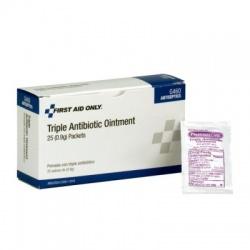 Triple Antibiotic Ointment, .5 gm - 25 per box Case of 18 @ $5.00 ea.