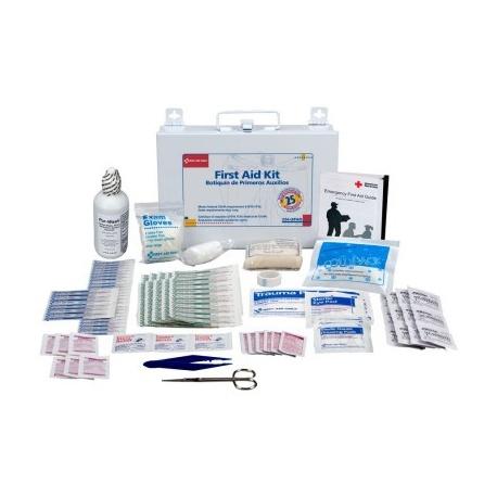 25 Person Bulk First Aid Kit - metal
