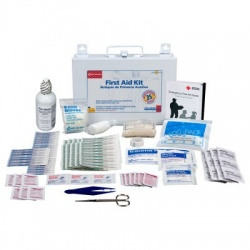 25 Person Bulk First Aid Kit - metal/Case of 6 @ $25.60 ea.