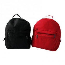 Adult Size Back Pack (Nylon) Red