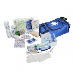 First Responder Kit / Jump Bag - 80 Pieces - Blue