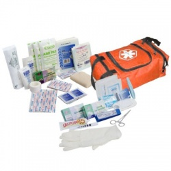 First Responder Kit / Jump Bag - 80 Pieces - Orange