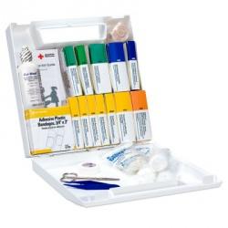 50 Person Bulk First Aid Kit - plastic
