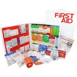 3 Shelf Industrial ANSI B+ First Aid Station, Pocketliner - 100 Person