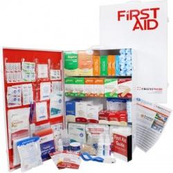 4 Shelf Industrial ANSI B+ First Aid Station, Pocketliner - 150 Person
