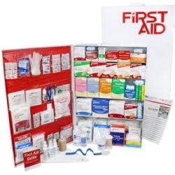 5 Shelf Industrial ANSI B+ First Aid Station, Pocketliner - 200 Person