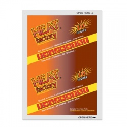 Heat Factory Mini Size Warmer, 1 pair