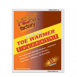 Heat Factory Adhesive Toe Warmer, 1 pair