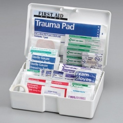 81 Piece Medium, All Purpose First Aid Kit/Case of 12 $9.00 ea.