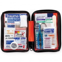 Outdoor First Aid Kit, soft bag, 107 Pieces - Small