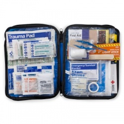 143 Piece Extra Large, Auto Soft sided First Aid Kit