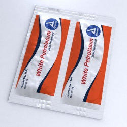 Lubricating jelly, sterile, 5.0 gm - 144 per box