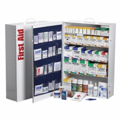 5 Shelf Industrial First Aid Station w/ pkt liner