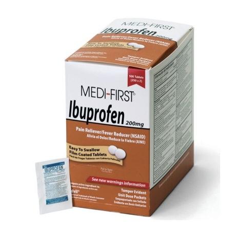 Ibuprofen, 500/box