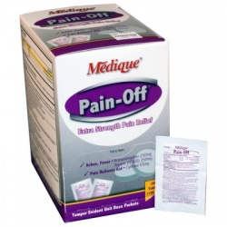 Pain Off Pain Reliever Tablets - 200 Per Box