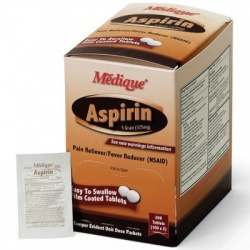 Medique Aspirin 5 Grain, 200/box