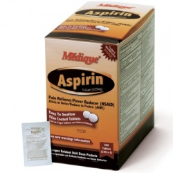 Medique Aspirin 5 Grain, 500/box