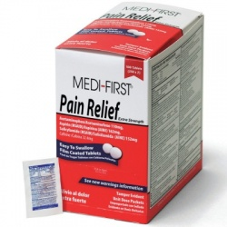 Pain Relief, 500/box/Case of 12 $18.70 each