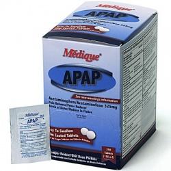 Medique APAP, 250/box