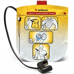 Adult Electrodes for Defibtech Lifeline View Automated External Defibrillator