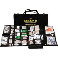 START II Trauma First Aid Kit Black Bag