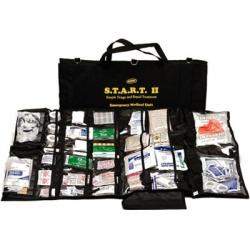 START II Trauma First Aid Kit Black Bag