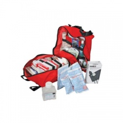 Deluxe Trauma Kit - 303 Pieces - soft side