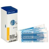 """1"""" X 3"""" Blue Metal Detectable Bandages, 40 Per Box - SmartTab EzRefill"""