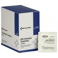 "4-3/4""x7-3/4""  Antiseptic cleansing wipe (sting free) - 50 per box"