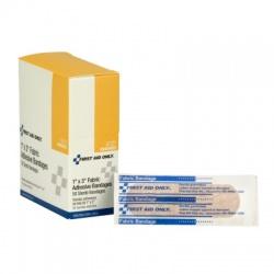 "'1""x3"" Fabric bandage - 50 bandages per dispenser box"