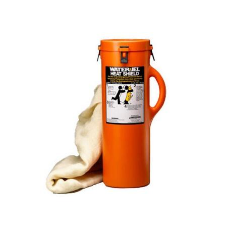 Water Jel 8' x 6' Heat Shield w/ Canister - 1 Each