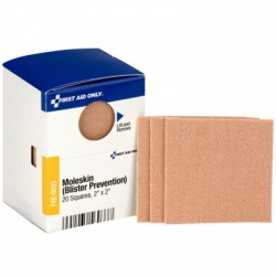 "2"" X 2"" Moleskin Blister Prevention, 20 Per Box - SmartTab EzRefill"