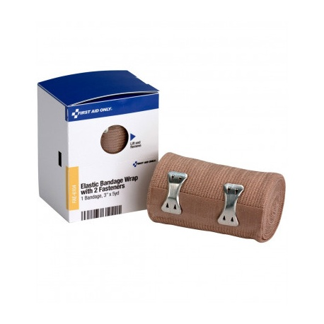 "3"" X 5 Yd Elastic Wrap Bandage, 1 Per Box - SmartTab EzRefill"