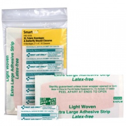Large Bandages & Butterfly Wound Closures - SmartTab EzRefill