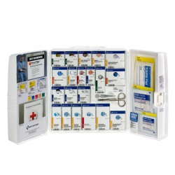 Guaranteed OSHA Compliance Food Industry first aid cabinet w/o oral meds