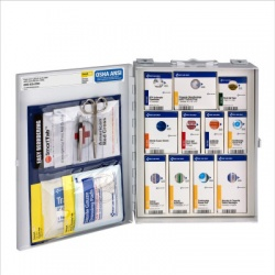 SmartCompliance General Workplace first aid cabinet-Medium